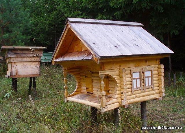 Домики для пчел своими руками